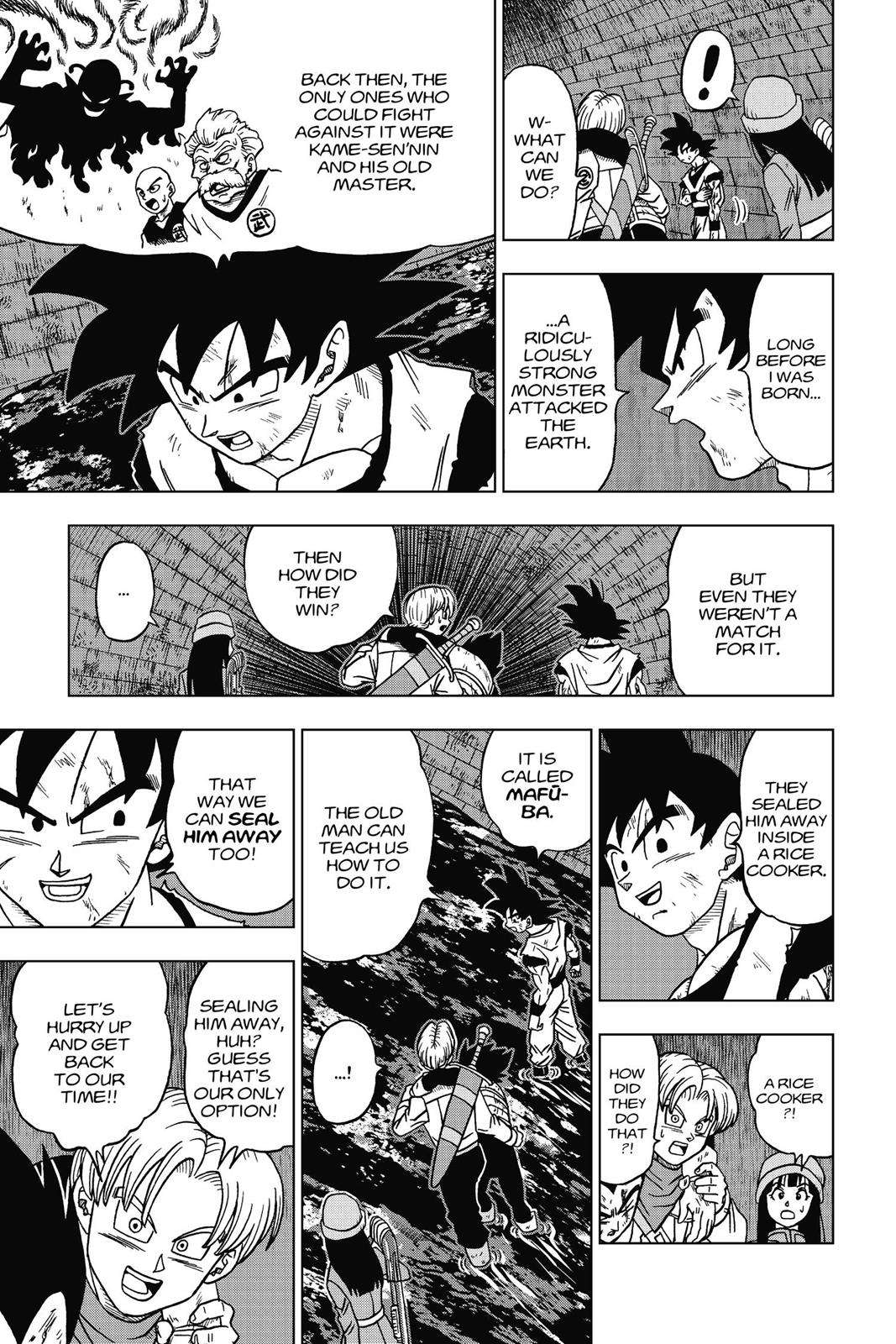 Dragon Ball Super Chapter 20 Page 33