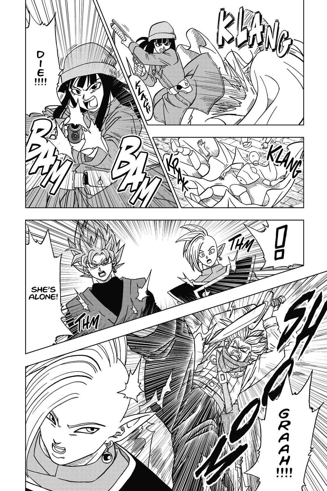 Dragon Ball Super Chapter 20 Page 36