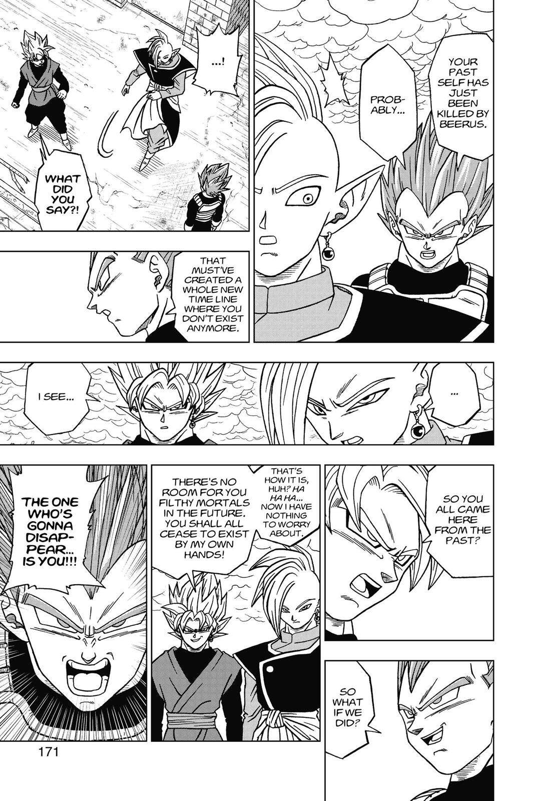 Dragon Ball Super Chapter 20 Page 5