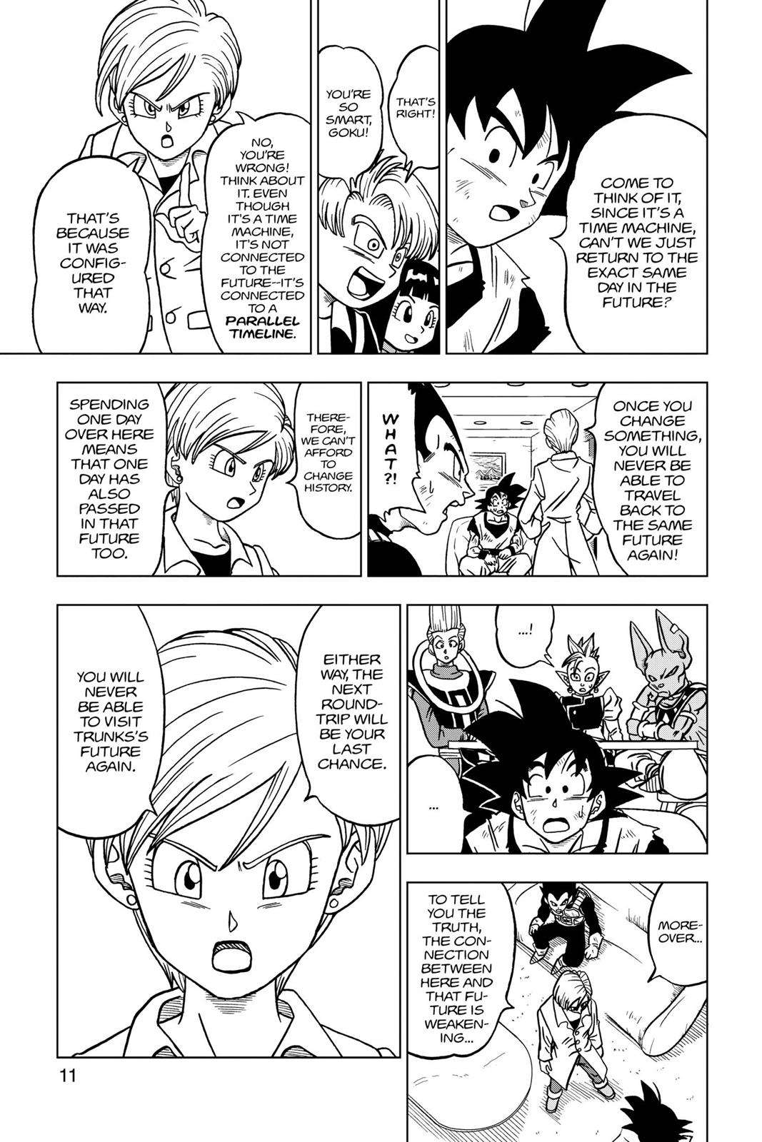 Dragon Ball Super Chapter 21 Page 12