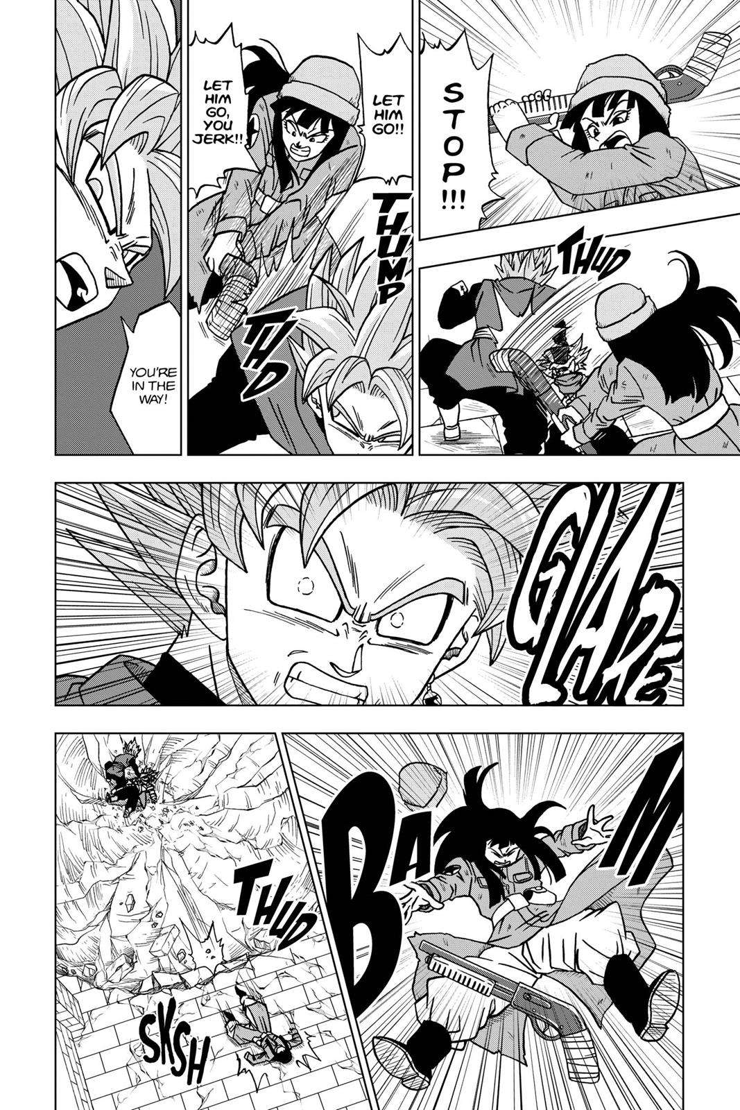 Dragon Ball Super Chapter 21 Page 19