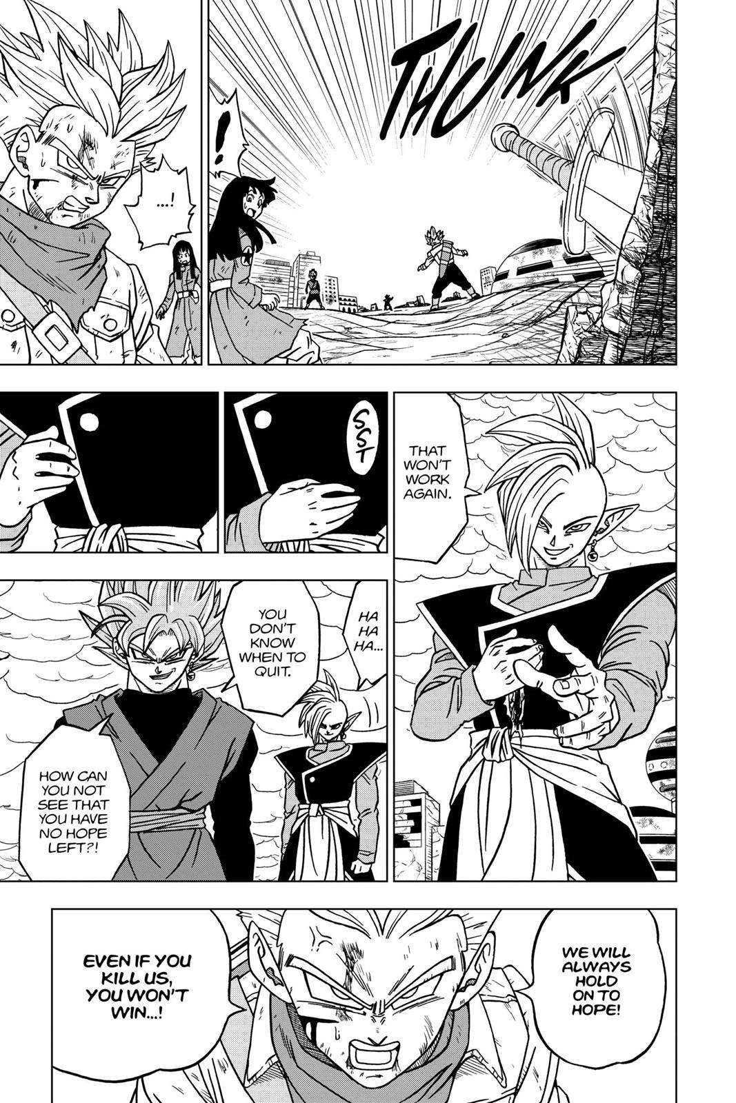 Dragon Ball Super Chapter 21 Page 22