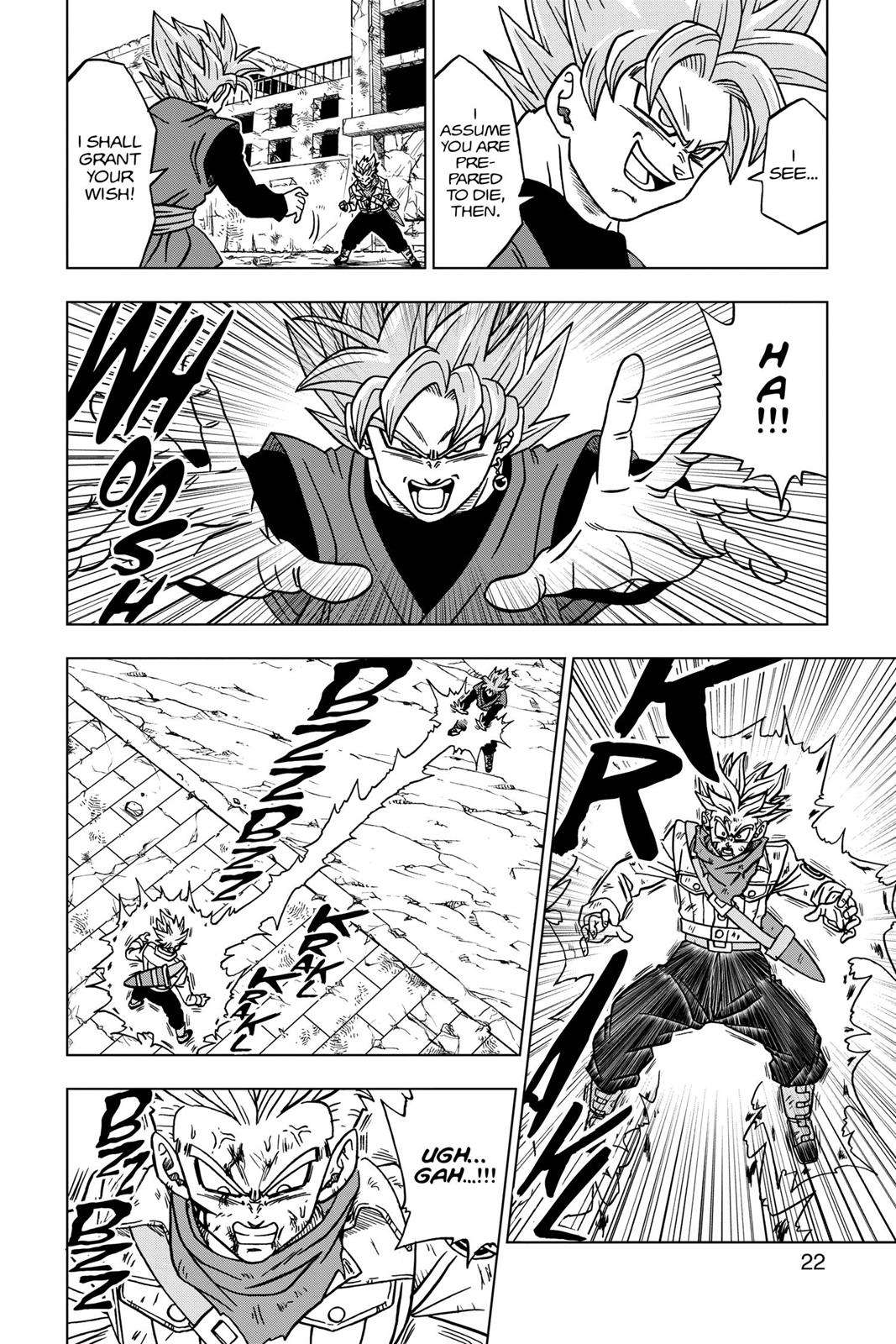 Dragon Ball Super Chapter 21 Page 23