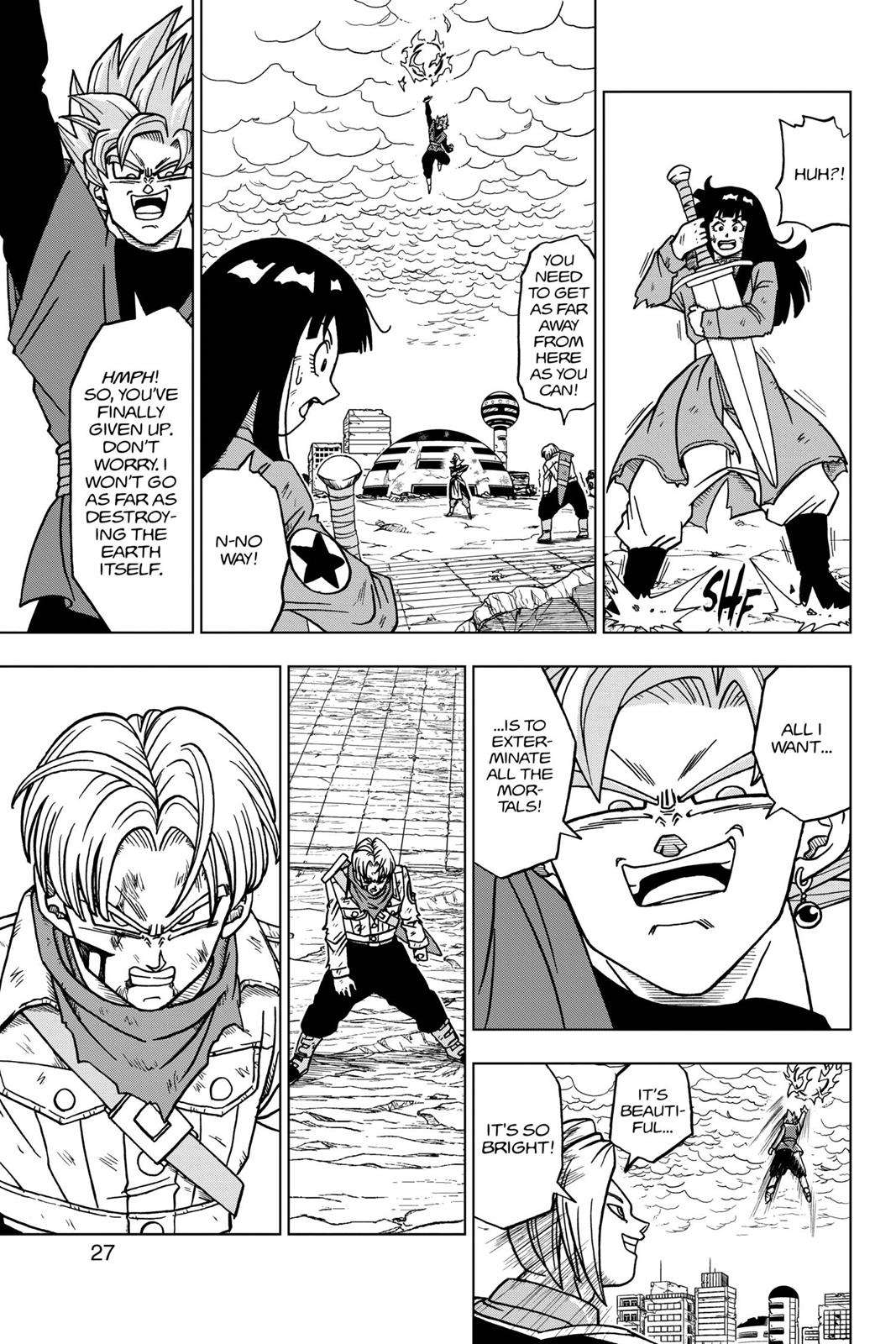 Dragon Ball Super Chapter 21 Page 28