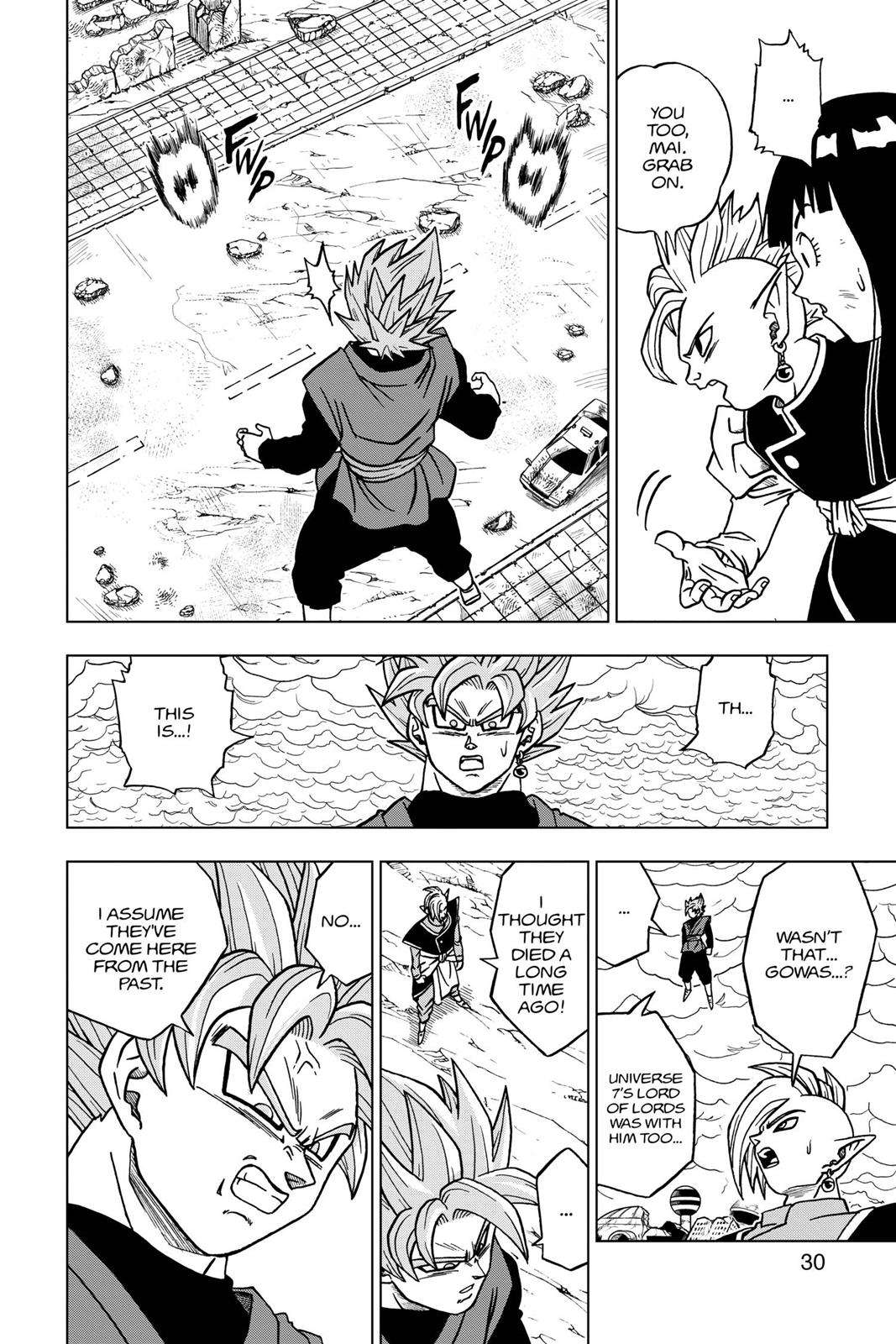 Dragon Ball Super Chapter 21 Page 31