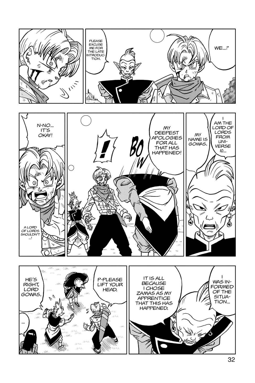 Dragon Ball Super Chapter 21 Page 33