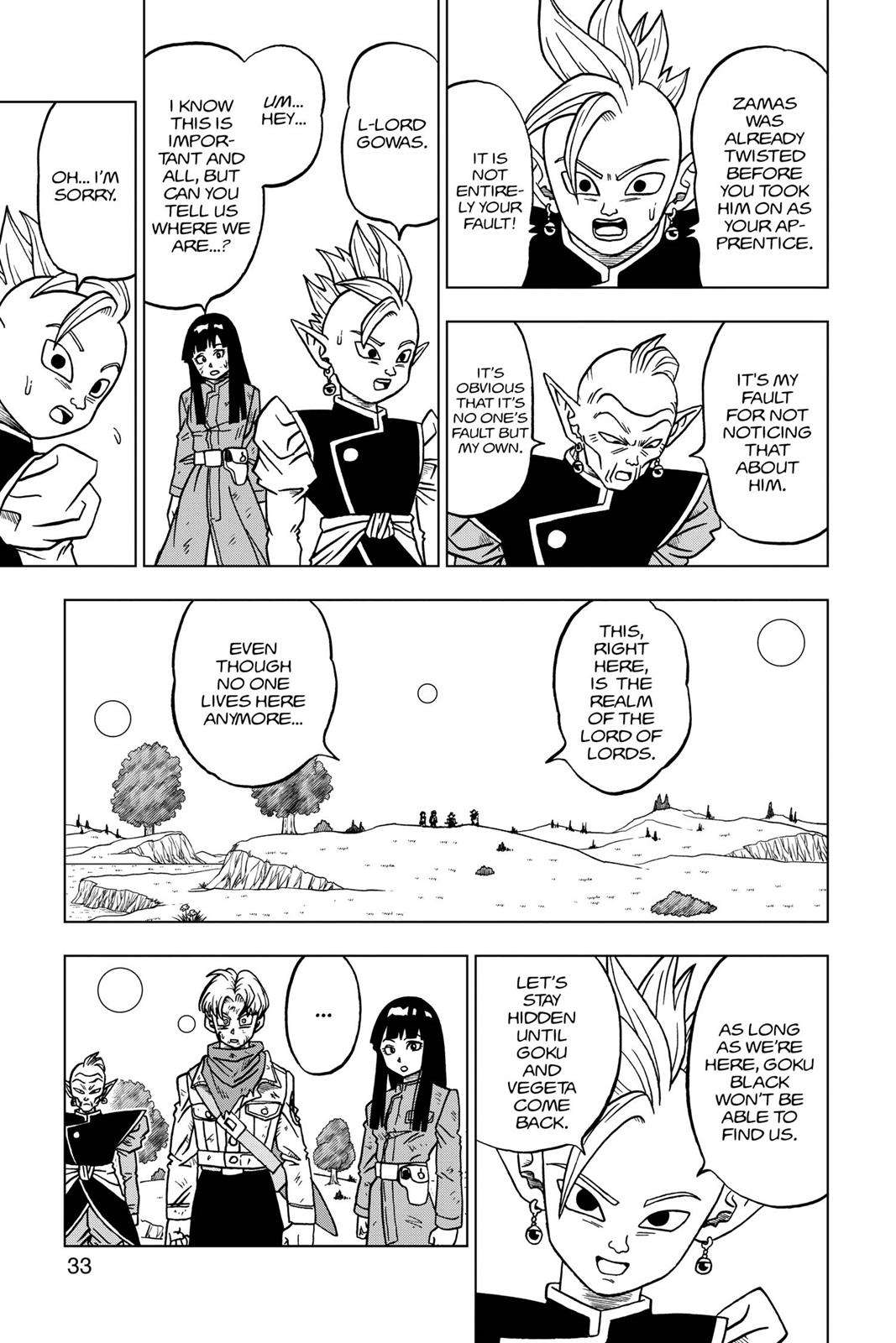 Dragon Ball Super Chapter 21 Page 34