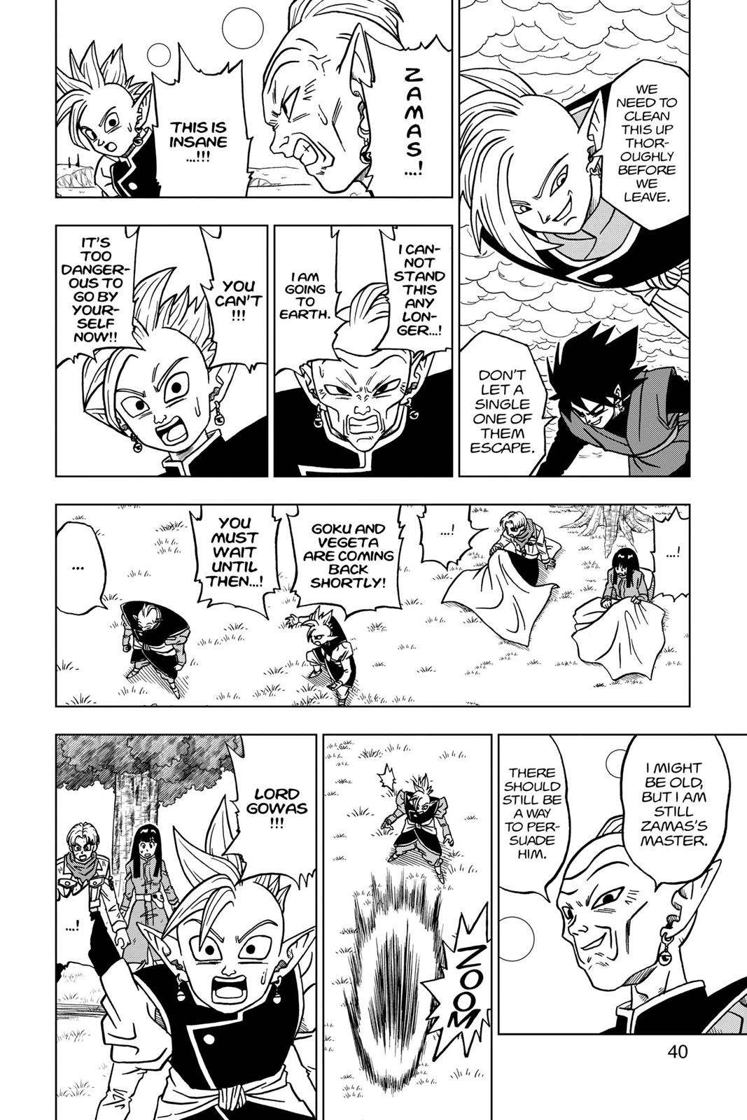Dragon Ball Super Chapter 21 Page 41