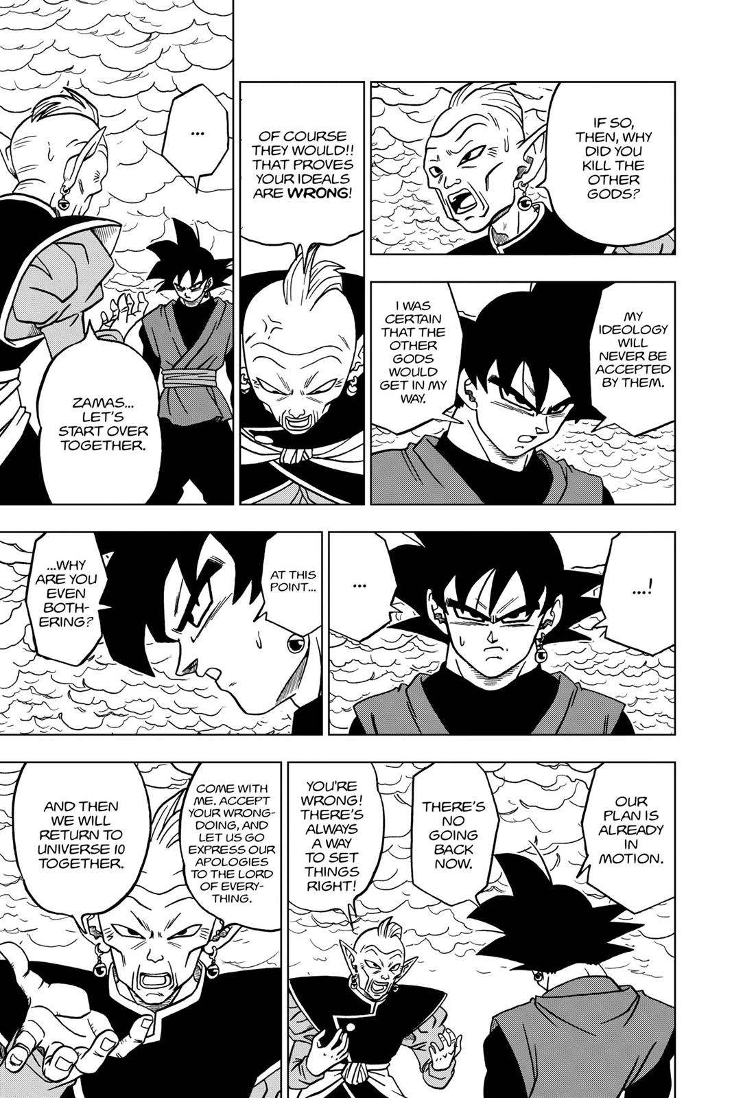 Dragon Ball Super Chapter 21 Page 44