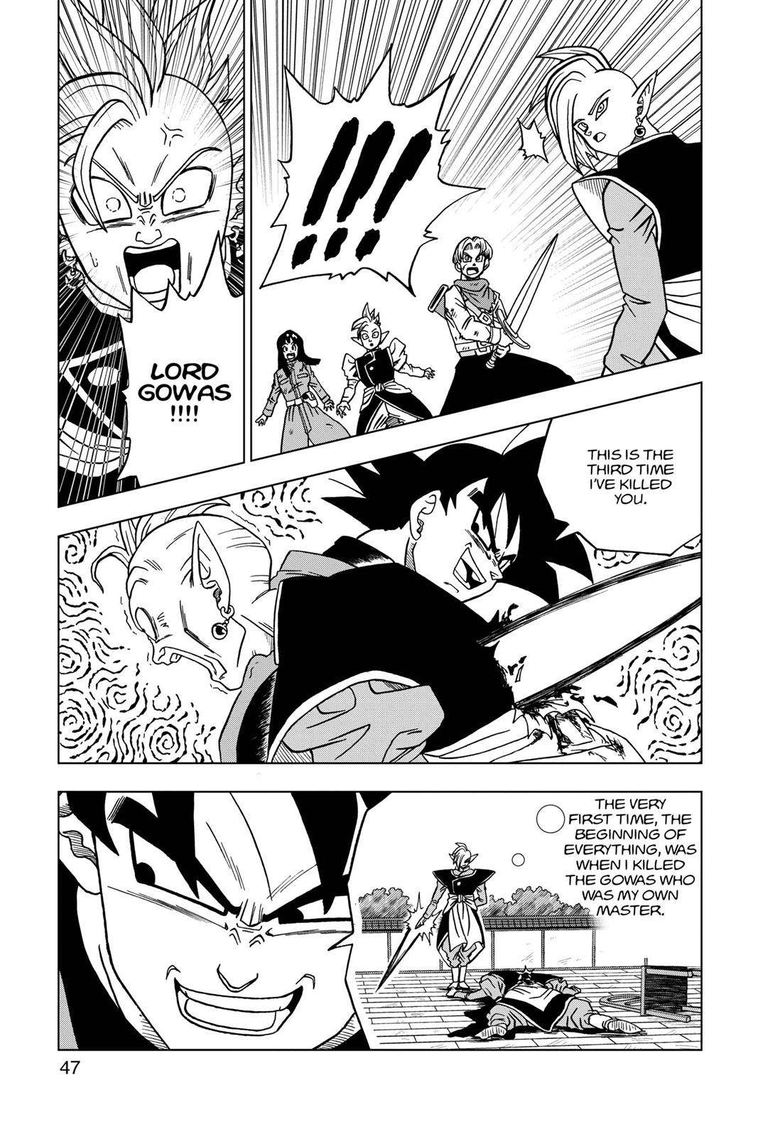 Dragon Ball Super Chapter 21 Page 48
