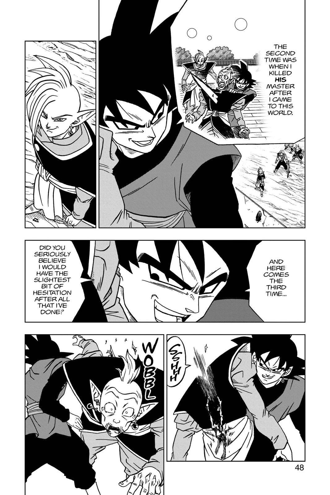 Dragon Ball Super Chapter 21 Page 49