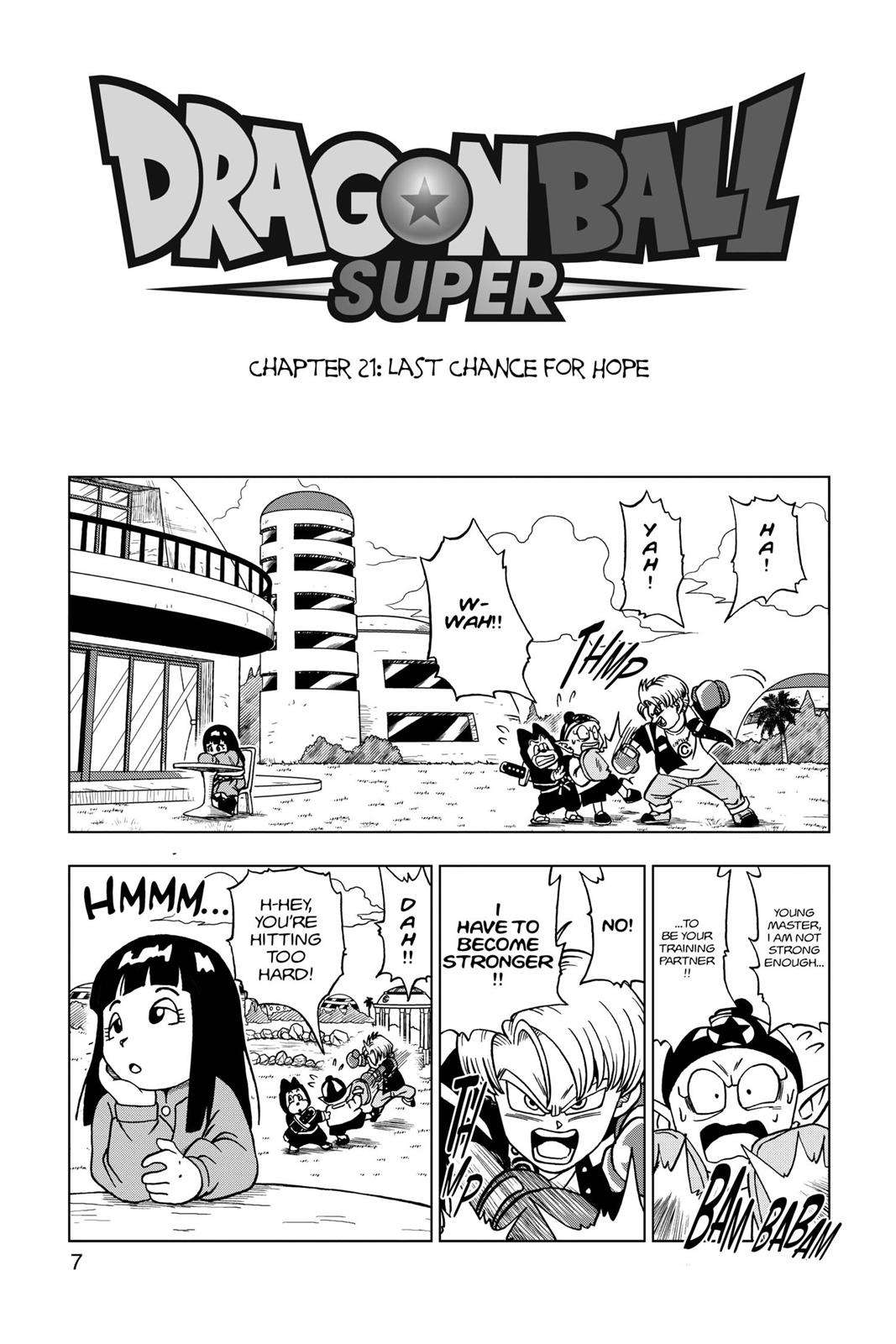 Dragon Ball Super Chapter 21 Page 8