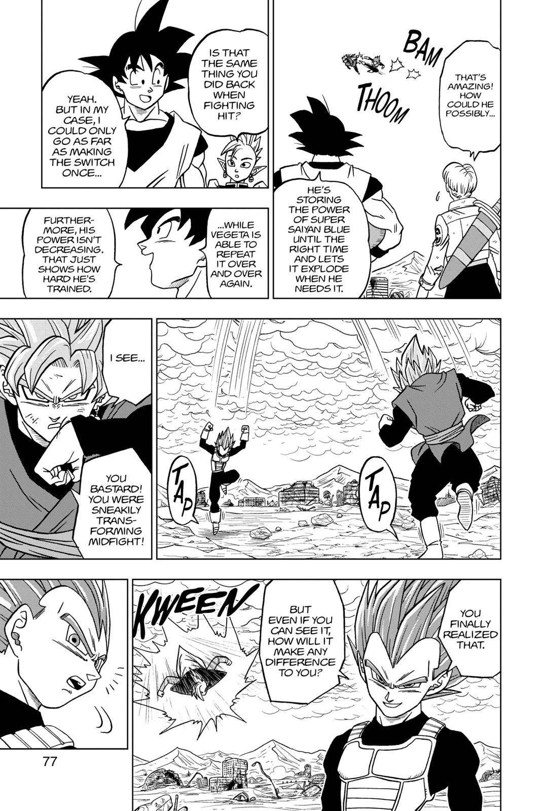 Dragon Ball Super Chapter 22 Page 25