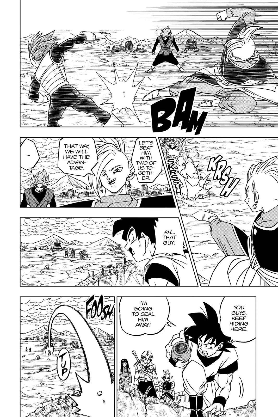 Dragon Ball Super Chapter 22 Page 26