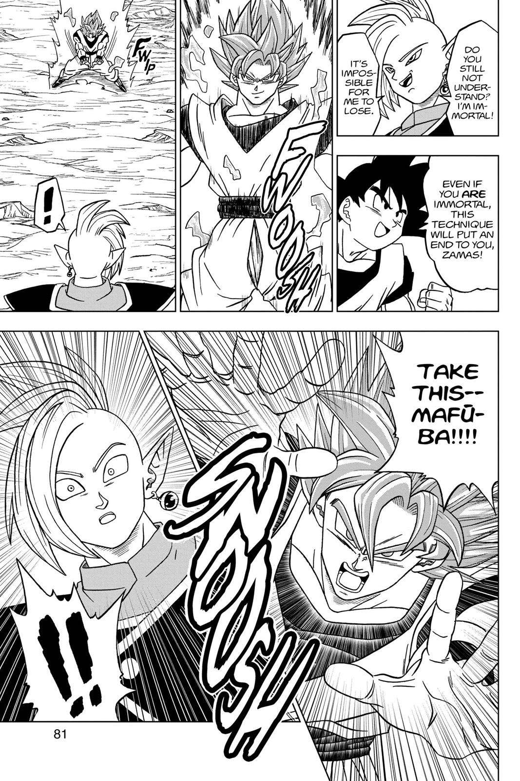 Dragon Ball Super Chapter 22 Page 29