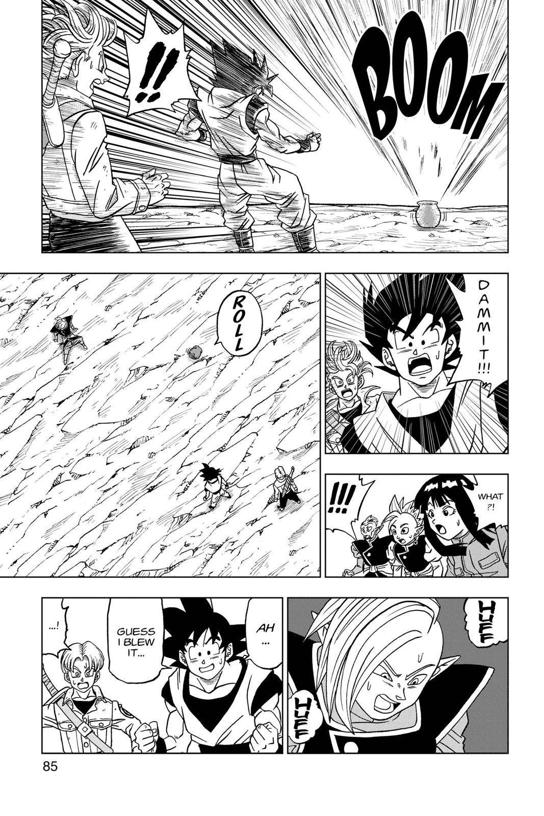 Dragon Ball Super Chapter 22 Page 33