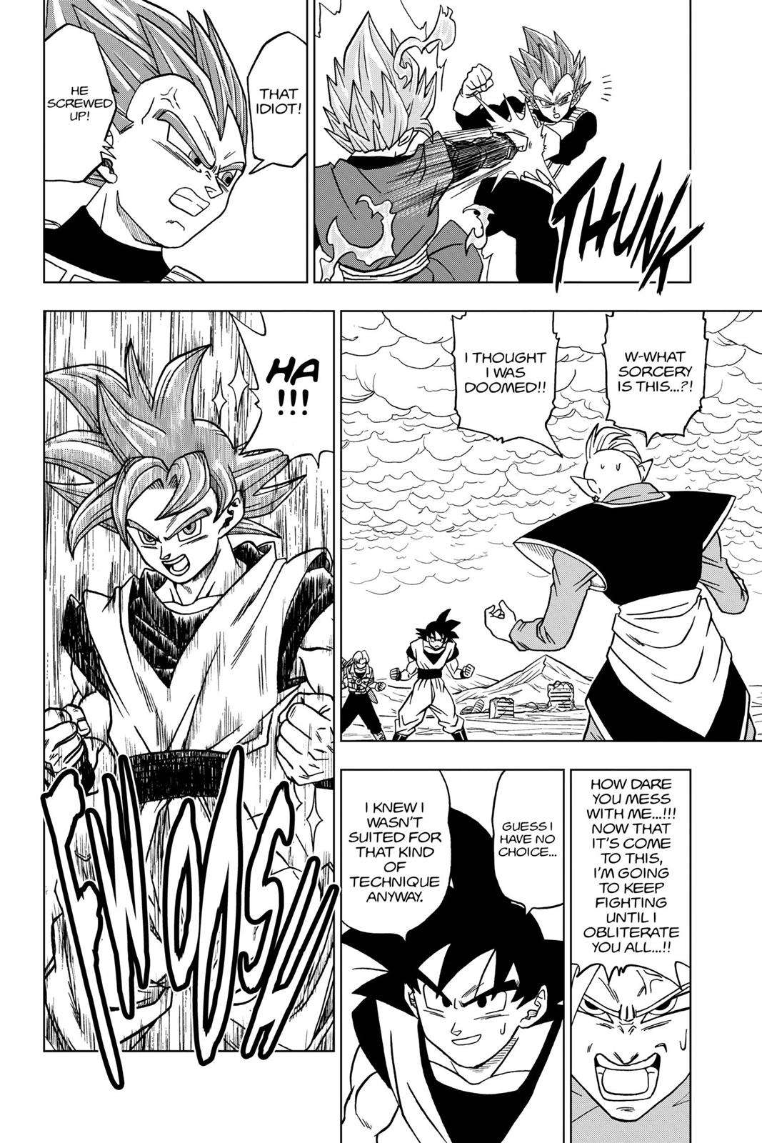 Dragon Ball Super Chapter 22 Page 34