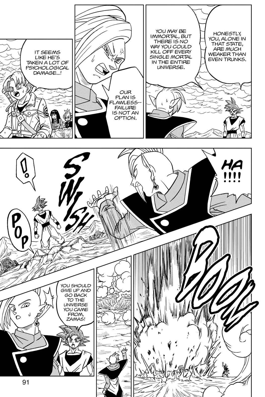 Dragon Ball Super Chapter 22 Page 39