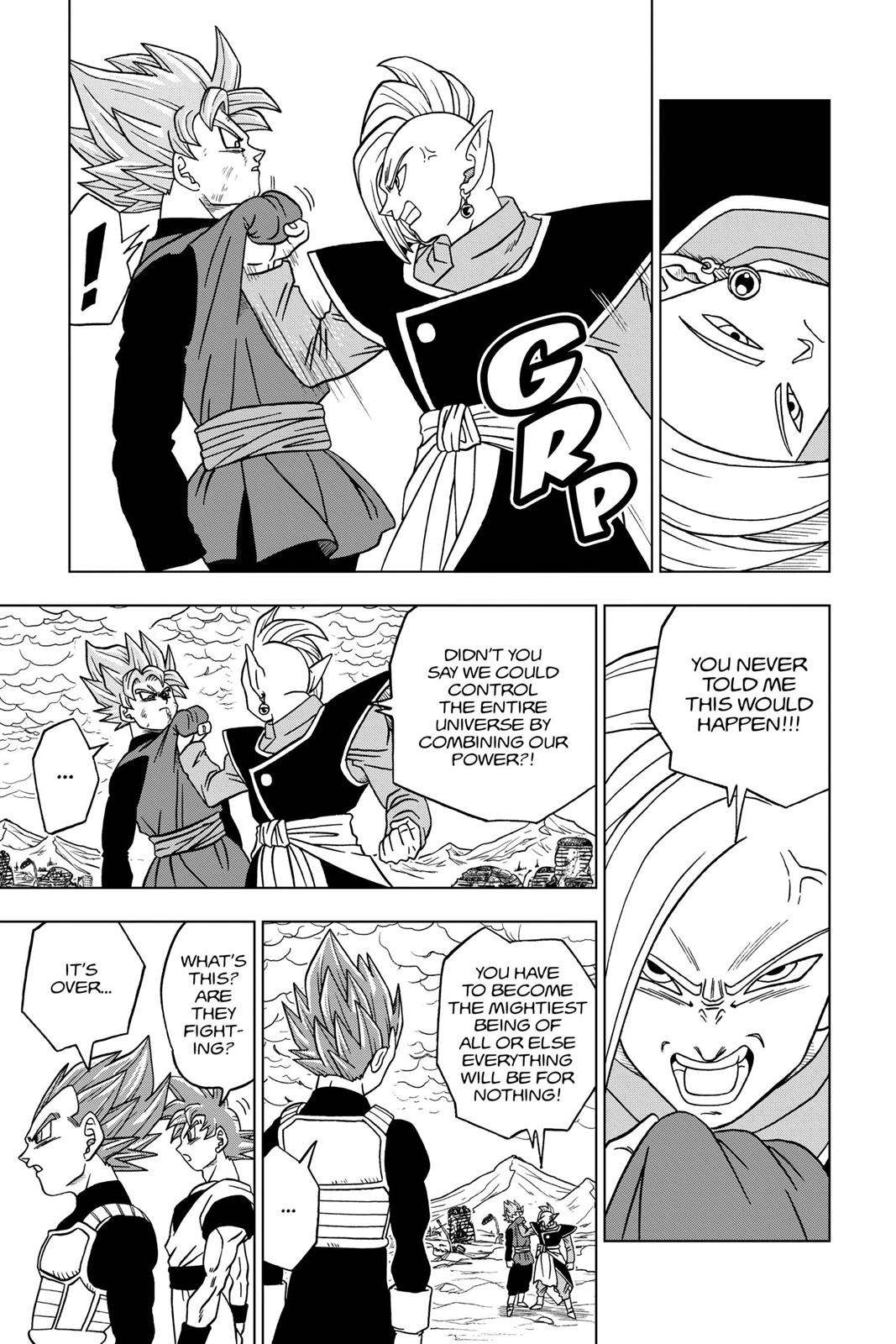 Dragon Ball Super Chapter 22 Page 41