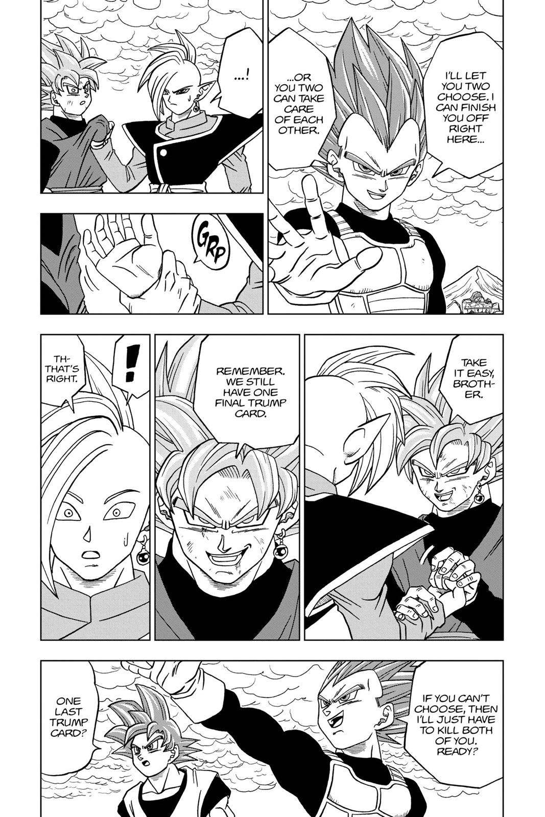 Dragon Ball Super Chapter 22 Page 42