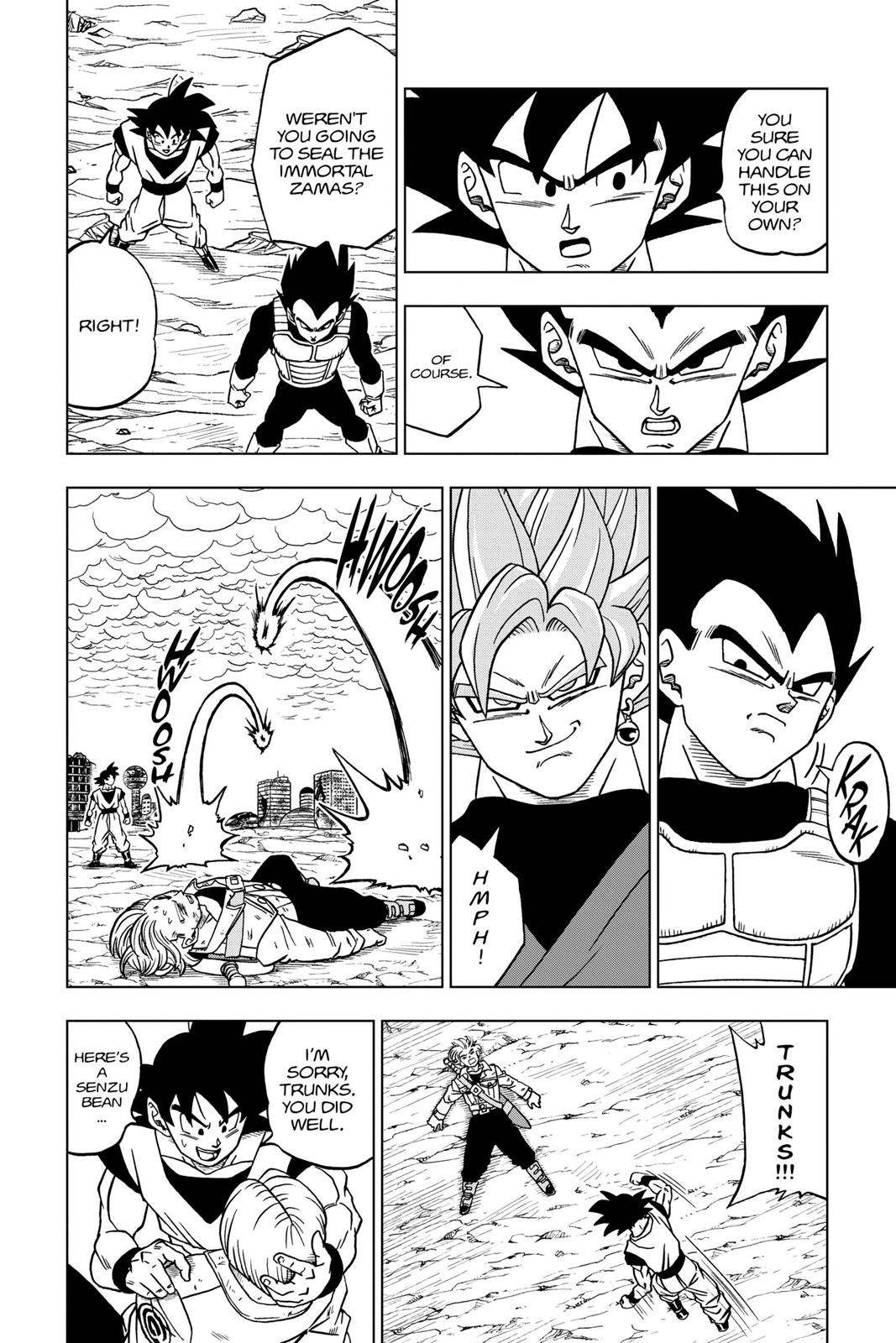 Dragon Ball Super Chapter 22 Page 8