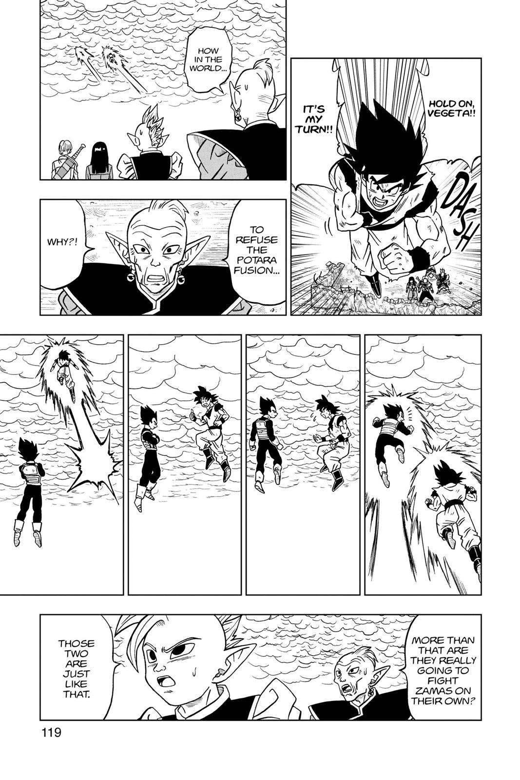 Dragon Ball Super Chapter 23 Page 21