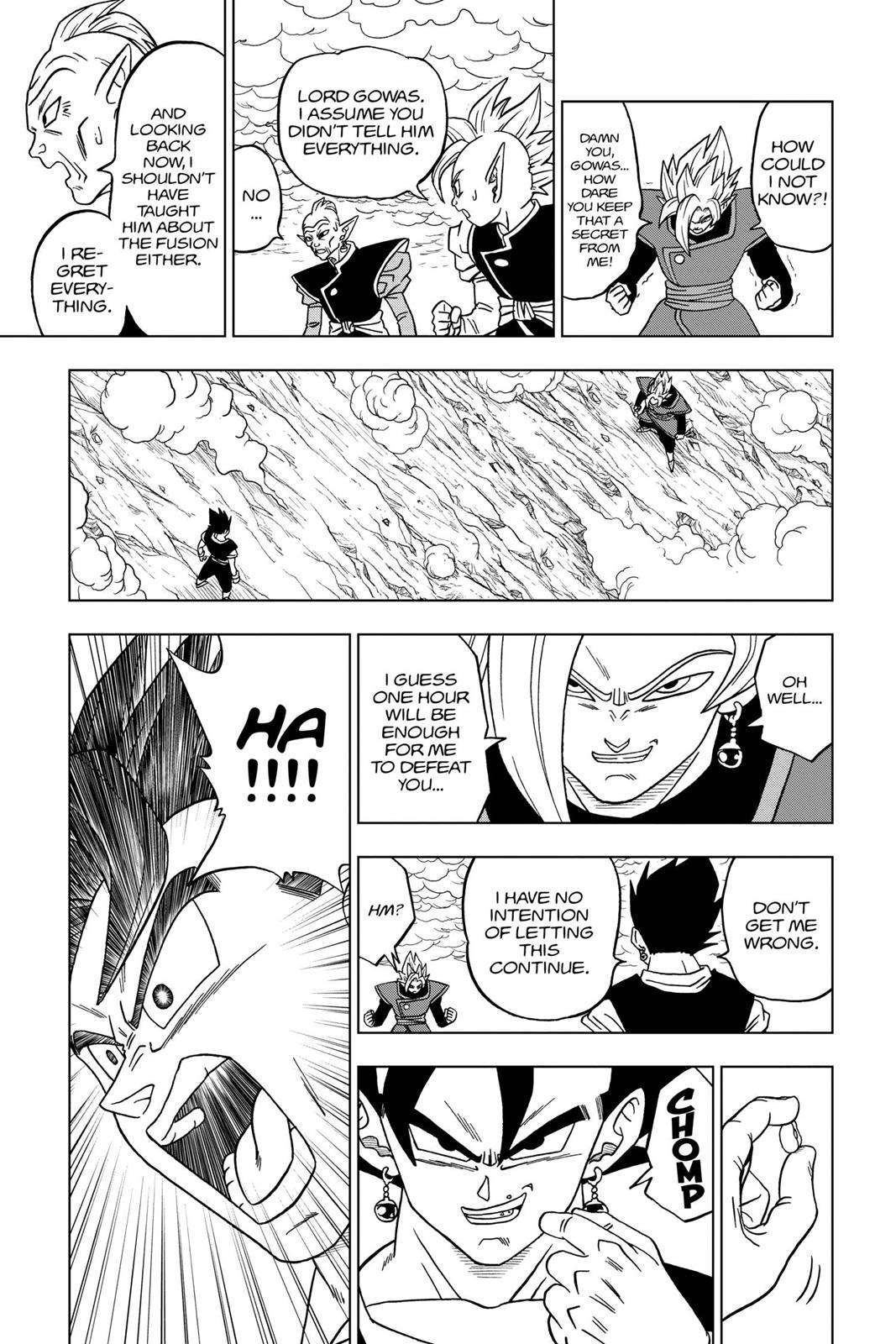 Dragon Ball Super Chapter 23 Page 35