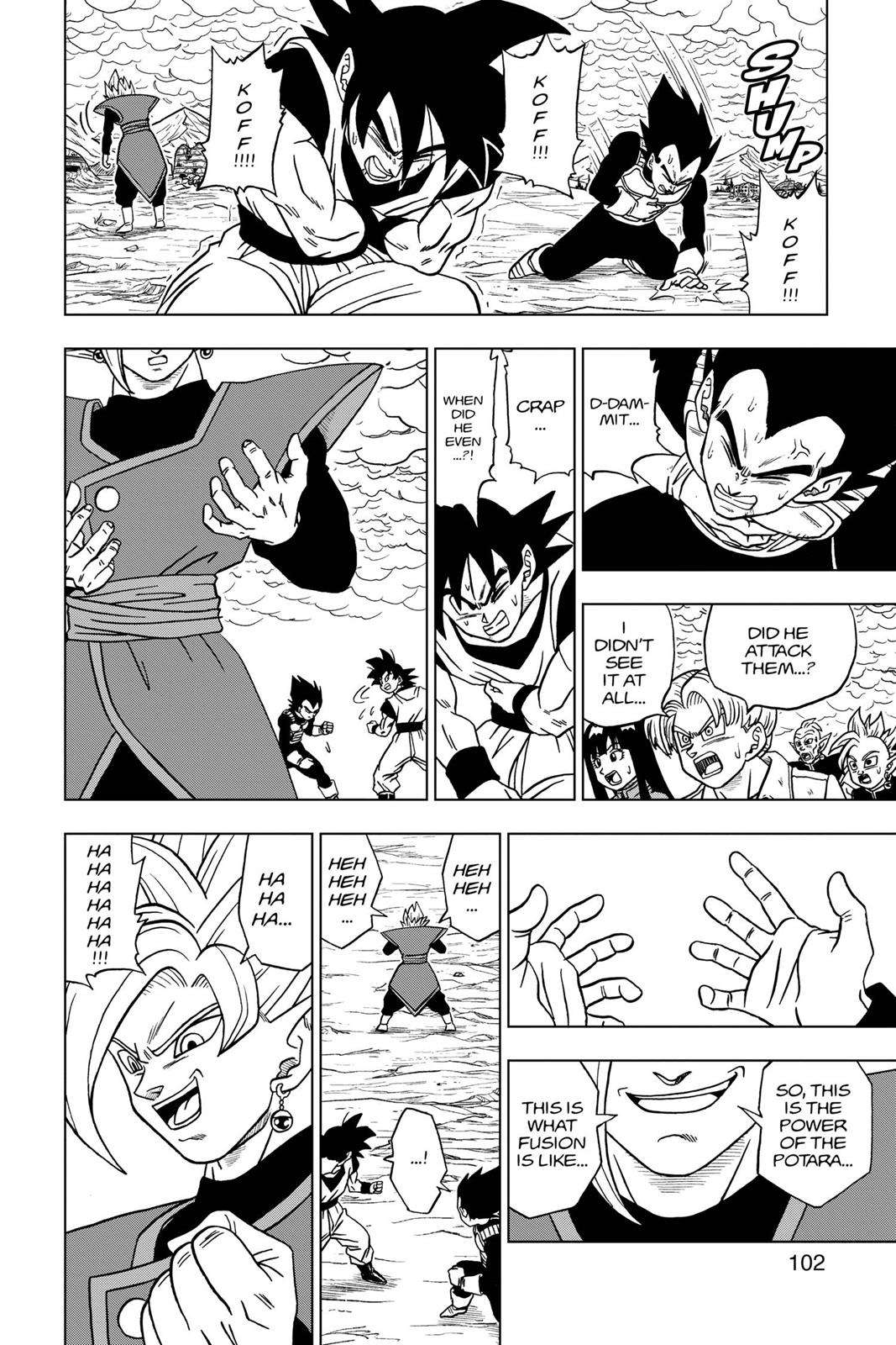 Dragon Ball Super Chapter 23 Page 4