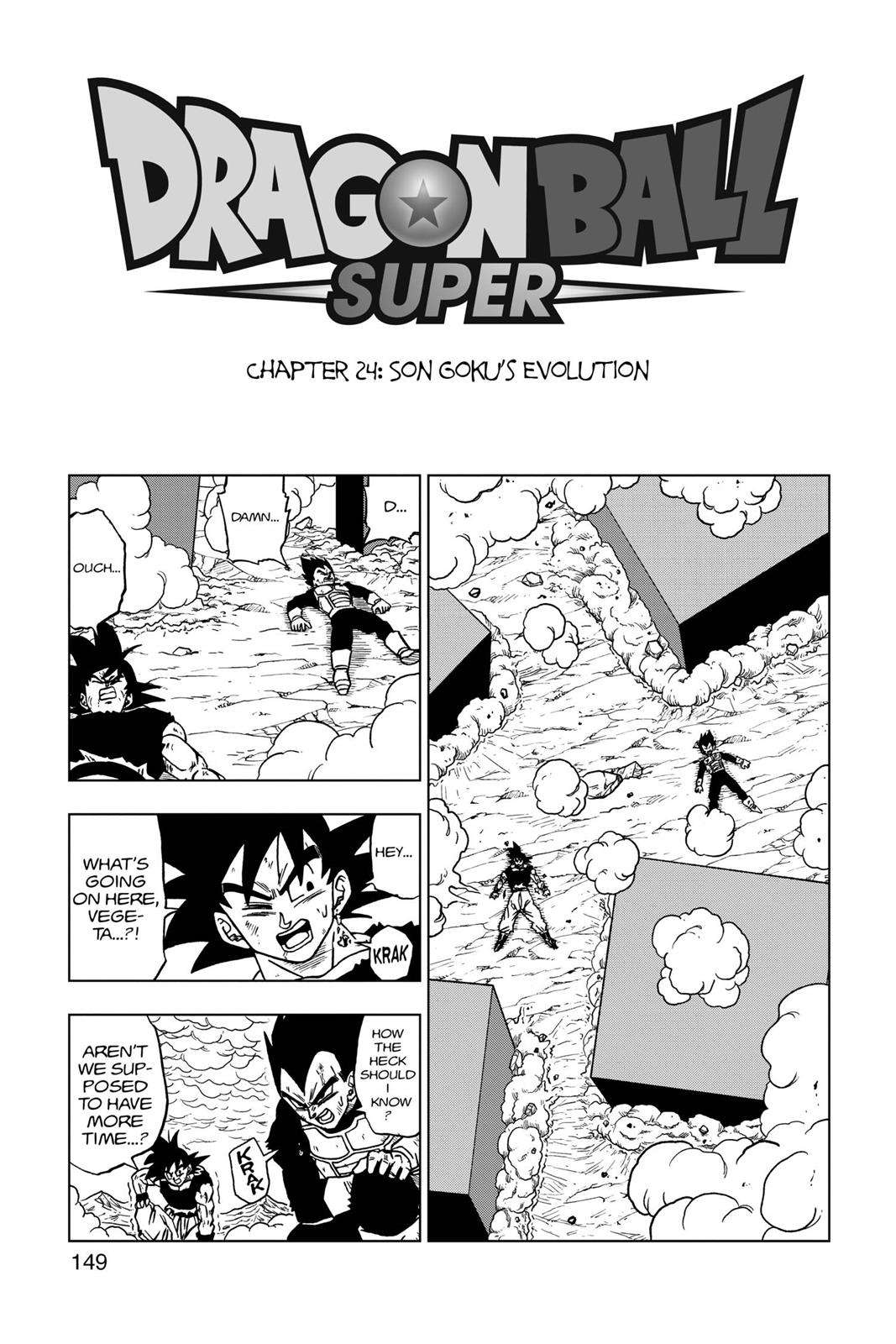 Dragon Ball Super Chapter 24 Page 1