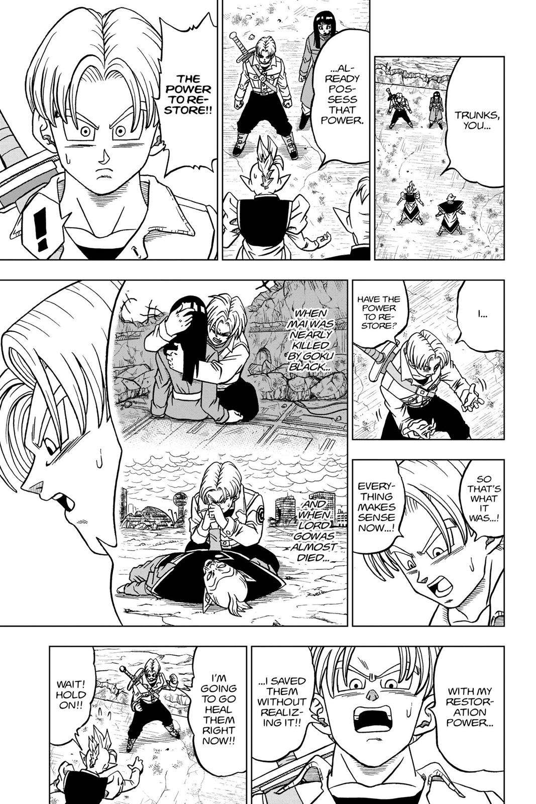 Dragon Ball Super Chapter 24 Page 9