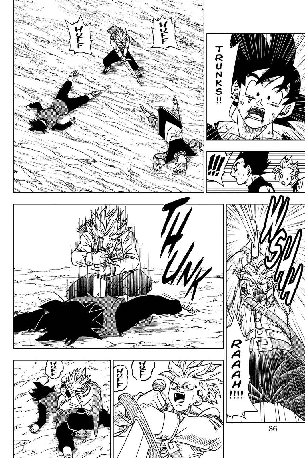 Dragon Ball Super Chapter 25 Page 37