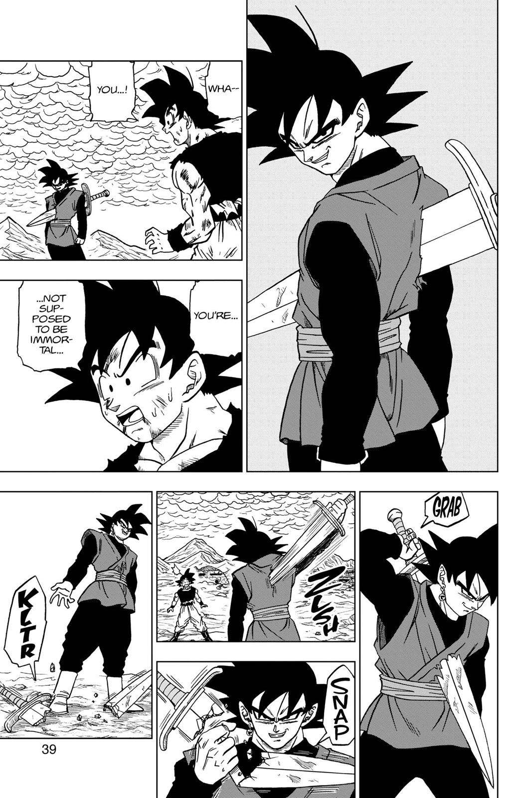 Dragon Ball Super Chapter 25 Page 40