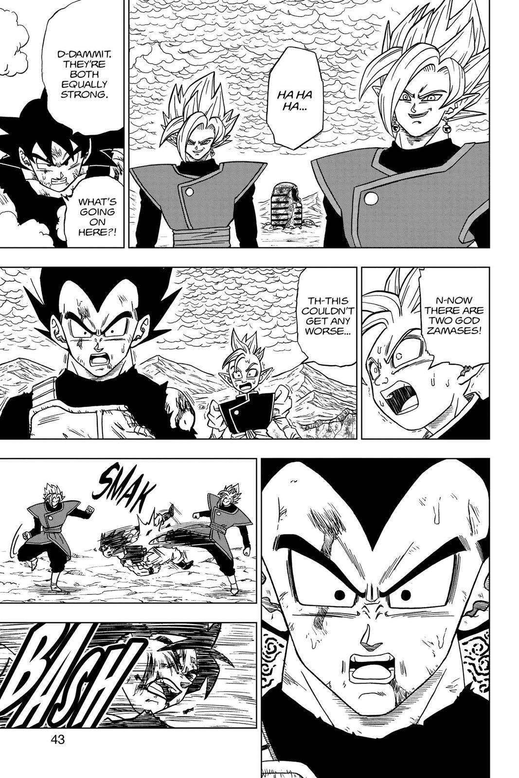 Dragon Ball Super Chapter 25 Page 44