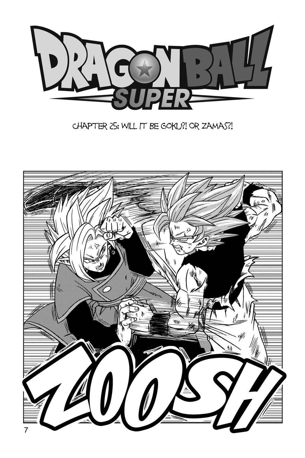 Dragon Ball Super Chapter 25 Page 8