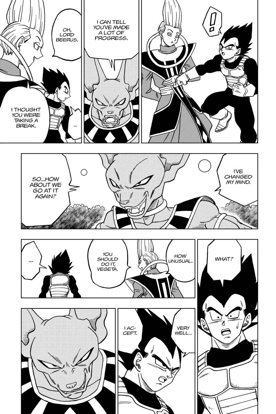 Dragon Ball Super Chapter 27 Page 17