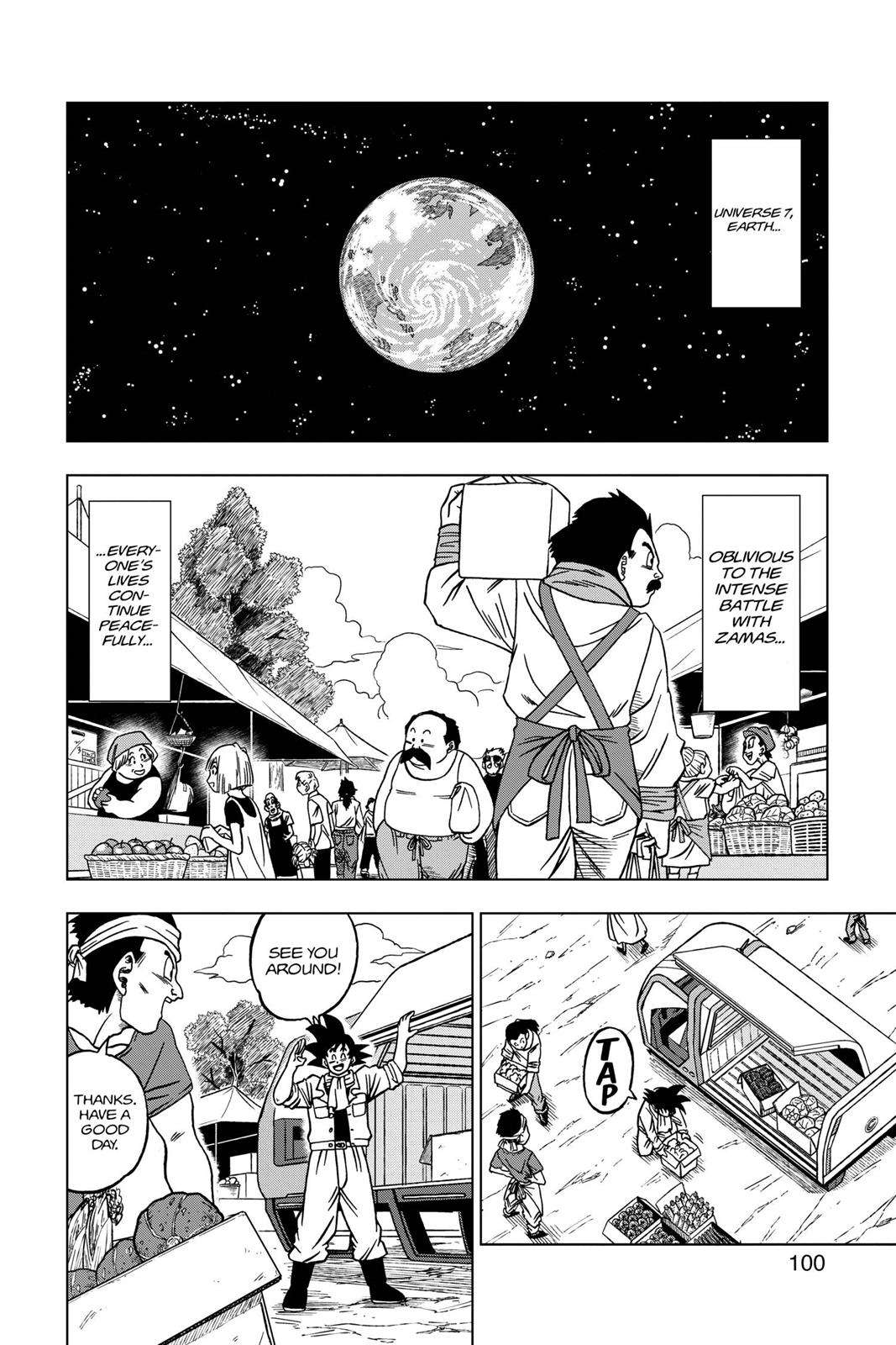 Dragon Ball Super Chapter 27 Page 2