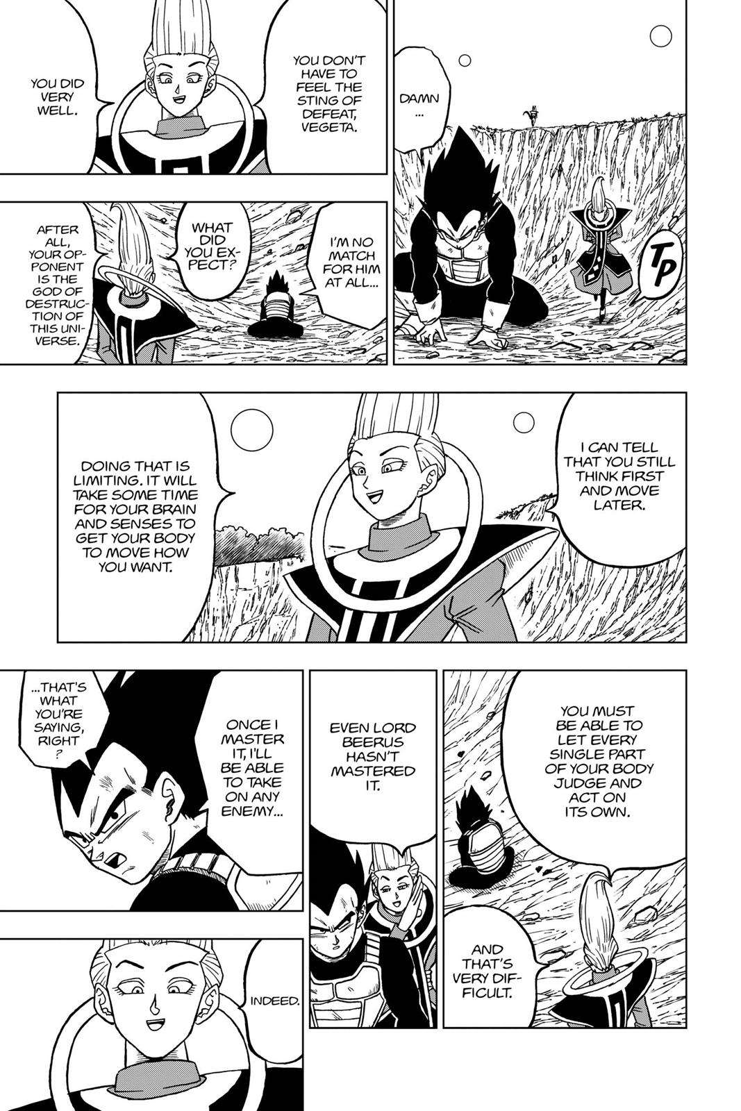 Dragon Ball Super Chapter 27 Page 35