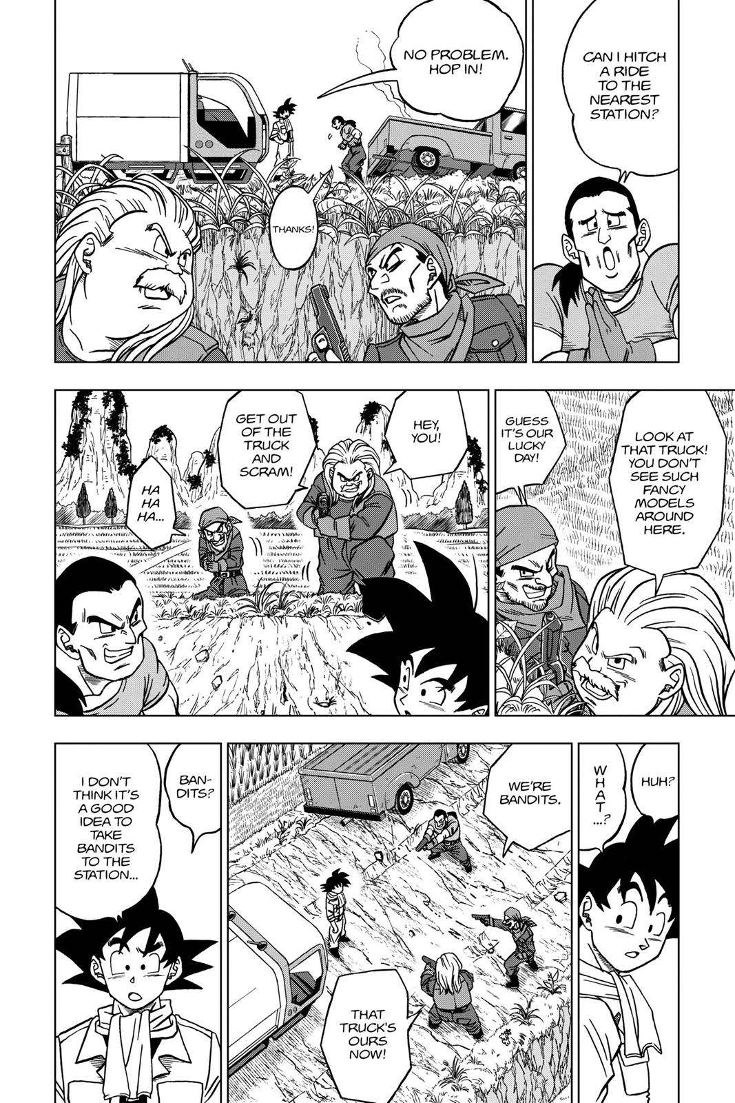 Dragon Ball Super Chapter 27 Page 4
