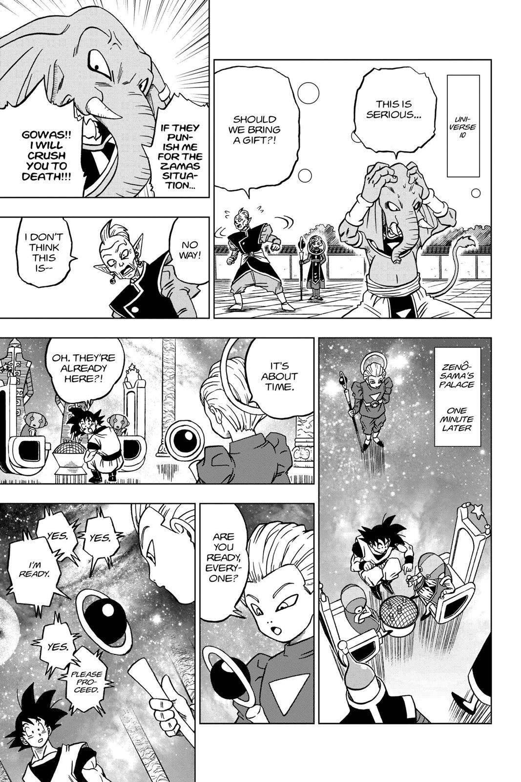 Dragon Ball Super Chapter 28 Page 15