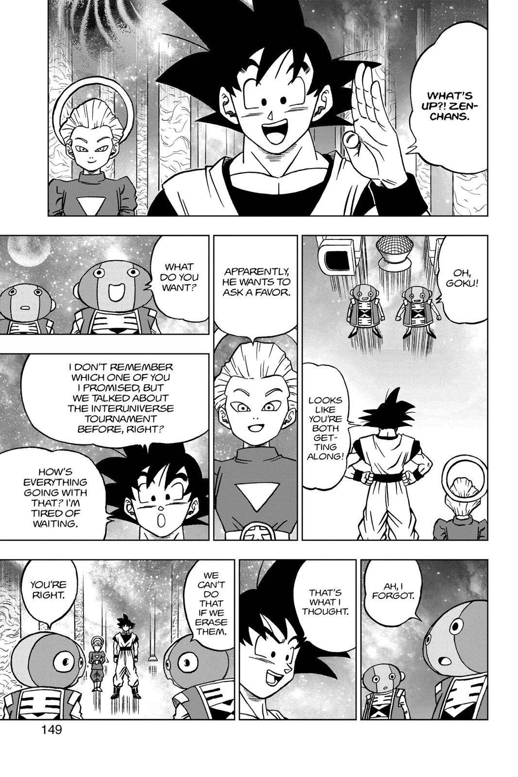 Dragon Ball Super Chapter 28 Page 5
