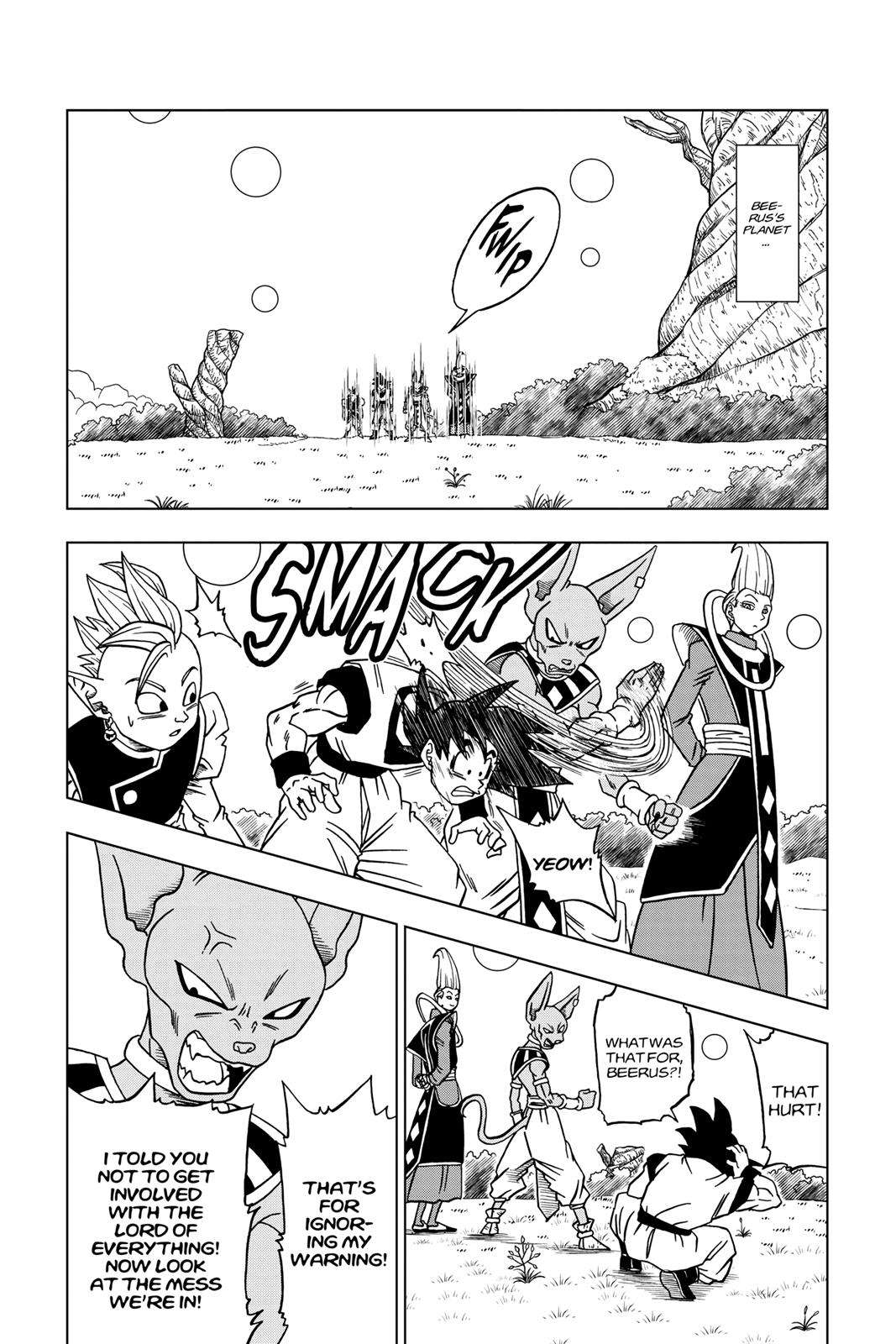 Dragon Ball Super Chapter 30 Page 14