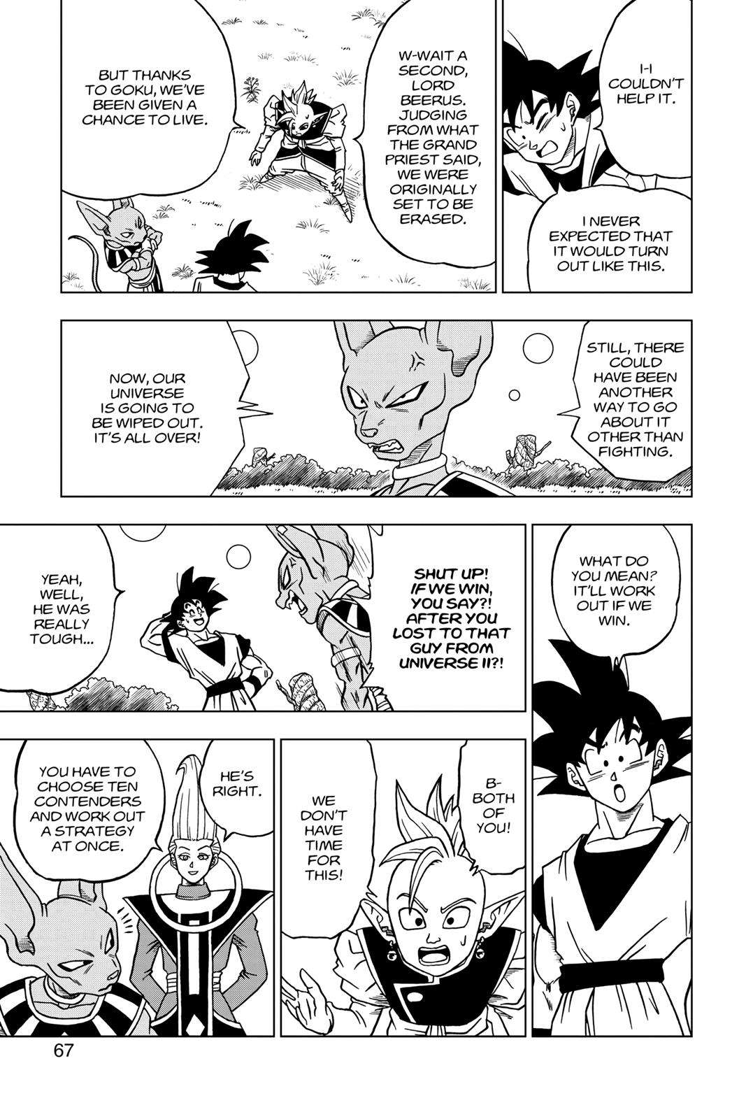 Dragon Ball Super Chapter 30 Page 15