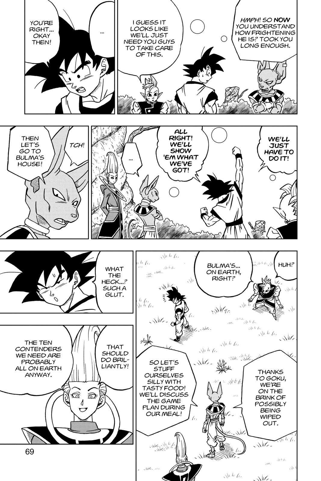 Dragon Ball Super Chapter 30 Page 17