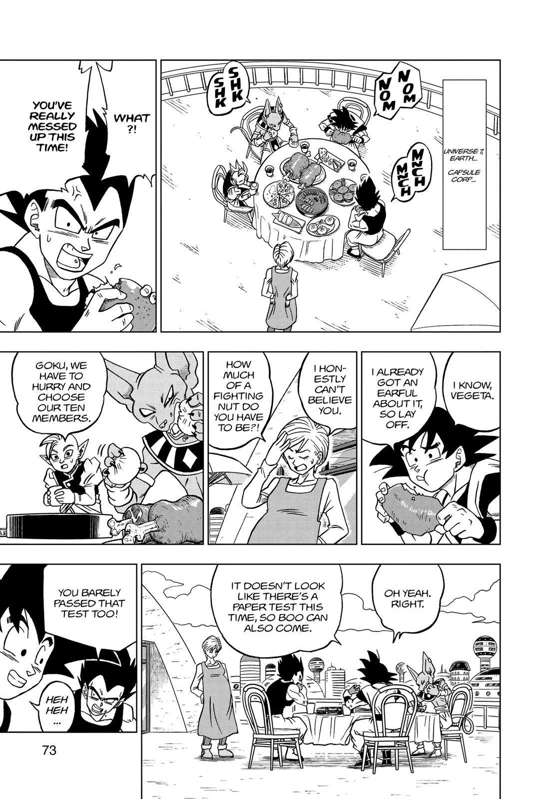Dragon Ball Super Chapter 30 Page 21