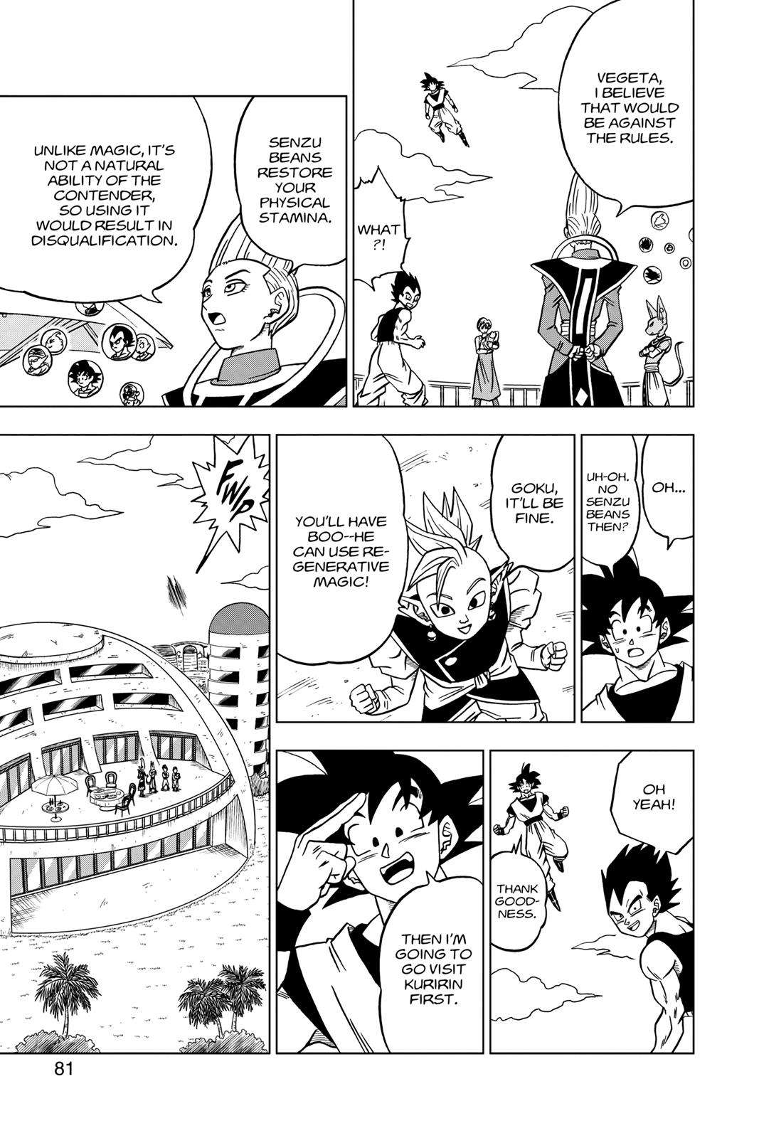 Dragon Ball Super Chapter 30 Page 29