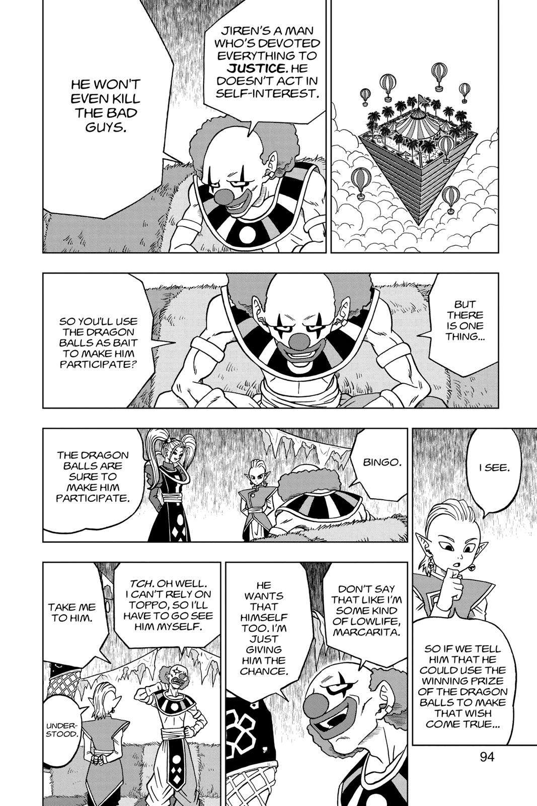 Dragon Ball Super Chapter 30 Page 42