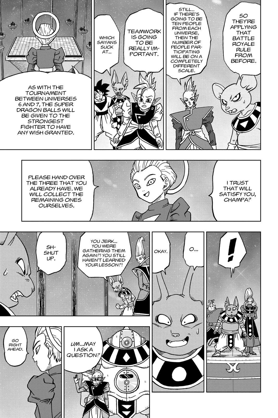 Dragon Ball Super Chapter 30 Page 7