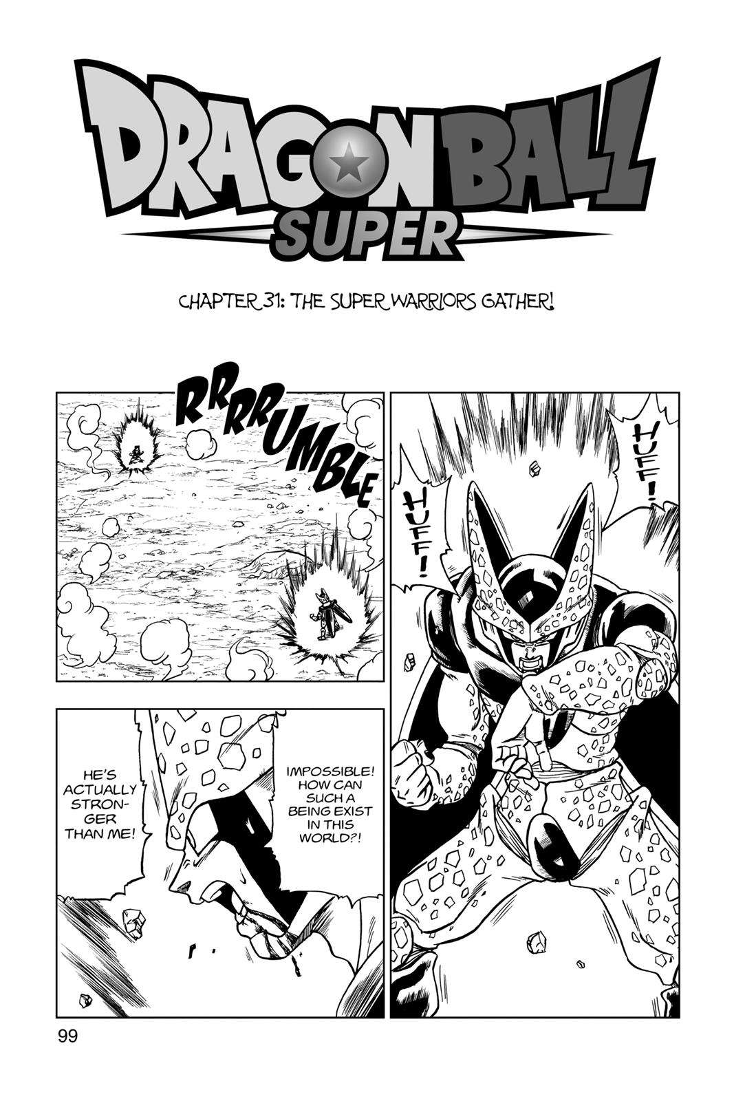 Dragon Ball Super Chapter 31 Page 1