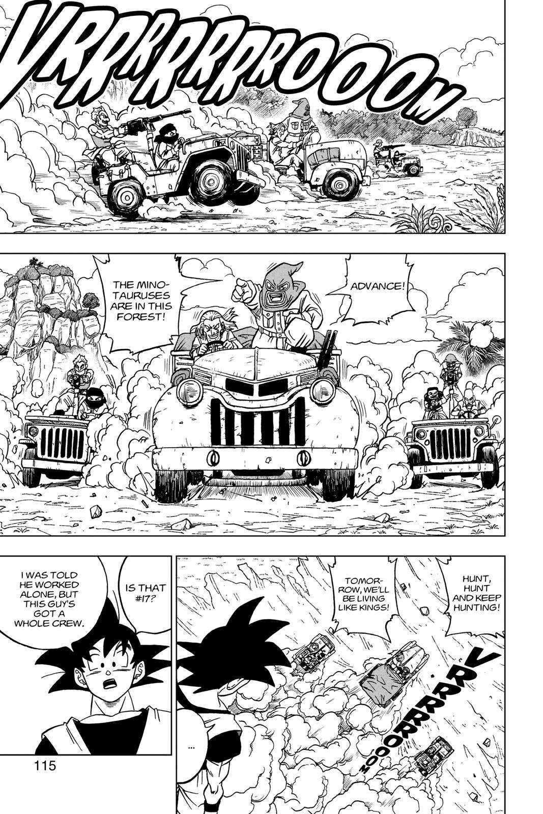 Dragon Ball Super Chapter 31 Page 17