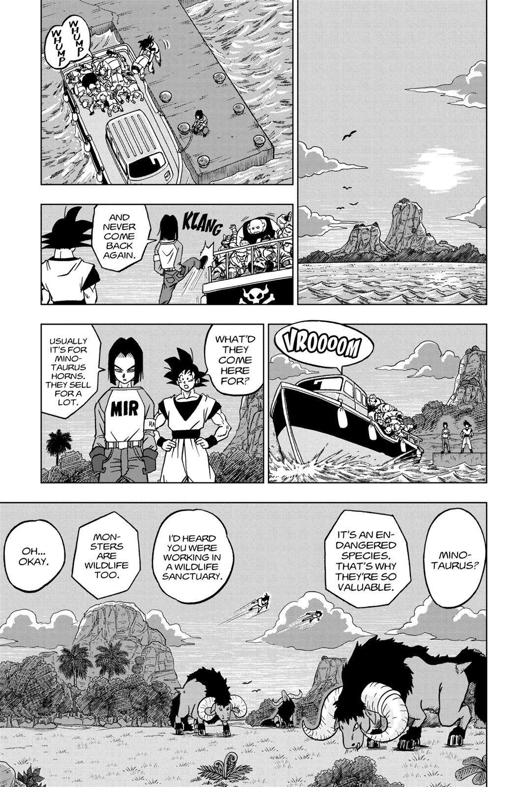 Dragon Ball Super Chapter 31 Page 33